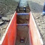 Zberače Stupné - AF - výstavba kanalizácie