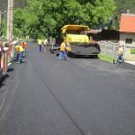 SO 07 Zberače Stuápné - asfaltovanie štátnej cesty Máj 2013