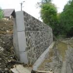 PS 05.2, ČS 2, Stupné, oporný múr