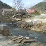 SO 08.4 ČS č.4 - kríženie s jestvujúcou daždovou kanalizáciou Apríl 2013