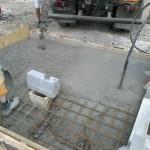 Čerpacia stanica č.3 - betonáž základovej dosky