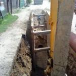 Zberače Brvnište - AI - výstavba kanalizácie Š24-Š35
